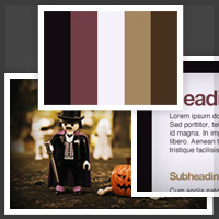 Build Site Color Schemes from Photography