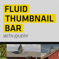 Make a Fluid Thumbnail Bar with jQuery