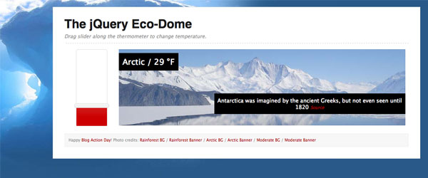 Eco Dome Demonstration
