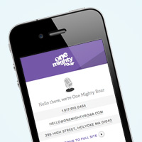 Add a Mobile Landing Page to Your Site