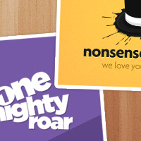 Redesign Double Feature – One Mighty Roar and Nonsense Society