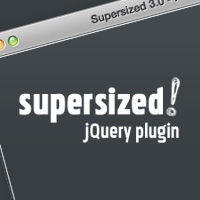 Supersized 3.0 – Full Screen Background & Slideshow jQuery Plugin