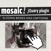 Mosaic – Sliding Boxes and Captions jQuery Plugin
