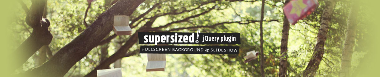 Supersized 3 1 jQuery Plugin – Fullscreen Background Slideshow with