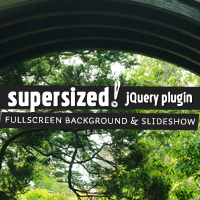 Supersized 3.2 – Fullscreen Slideshow jQuery Plugin