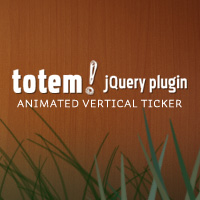 Totem: A Vertical Ticker jQuery Plugin