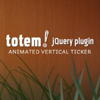 Totem: A Vertical Ticker jQuery Plugin